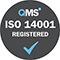 ISO 14001 Badge