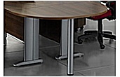 Eden II Semi Circular Desk End Extension