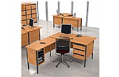 NEXT DAY Nova L-Shaped Desks