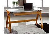 Spectrum Oak Veneer Computer Desks