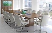 Barrel Shaped Boardroom Tables