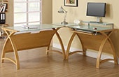 Spectrum Oak Veneer Home Office Furniture