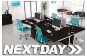 NEXT DAY Eclipse Black Desks