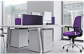 Elite Linnea Double Bench Desks