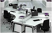 Elite Linnea Cluster Bench Desks