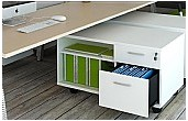 Elite Linnea Mobile Pedestals & Storage