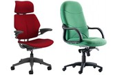 Executive Fabric Office Chairs