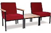 Fabric Occasional Reception Chairs