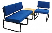 Metal Frame Occasional Reception Chairs