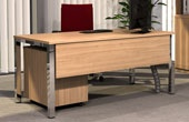 BN Easy Space Fixed Height Square Leg Desks