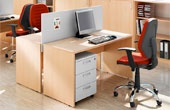 BN Easy Space Fixed Height Panel End Desks