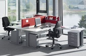 BN Easy Space Fixed Height Cantilever Desks