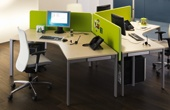 BN SQart Workstation Cluster Desks