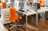 BN Primo Space Veneer Ergonomic Desks