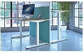 Accolade Sit-Stand Rectangular Desks