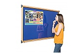 Shield® Design Wood Effect Noticeboards
