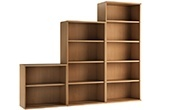 NEXT DAY Force Classic Office Bookcases