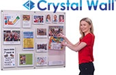 Spaceright Crystal Wall Display Boards