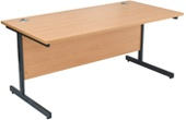 NEXT DAY Karbon K1 Rectangular Desks