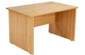Commerce II Panel End Rectangular Desks