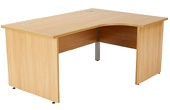 Commerce II Panel End Ergonomic Desks