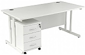 NEXT DAY Karbon K3 Mobile Pedestal Desks