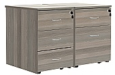 Commerce II Drawer Pedestals