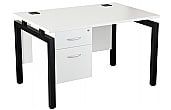 NEXT DAY Karbon K4 Fixed Pedestal Bench Desks