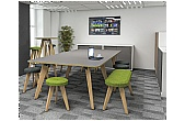 Artemis Wooden Leg Boardroom Tables