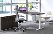 Sven HiRise Electric Sit-Stand Bench Desks