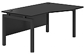 Noir 4 Leg Bench Desks