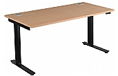 NEXT DAY Karbon Sit-Stand Rectangular Desks