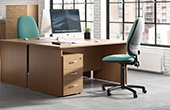 NEXT DAY Karbon K2 Panel End Desks