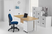 Commerce II Deluxe Office Desks