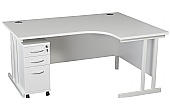 NEXT DAY Karbon K3 Ergo Mobile Pedestal Desks