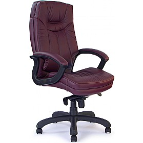 Madrid Leather Faced Manager Chair
