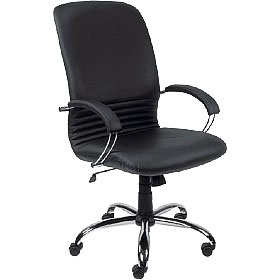 Mirage Leather Faced Manager Chair £176 -