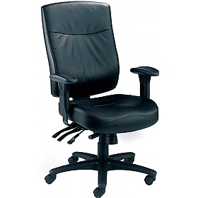 Marathon 24 Hour Leather Faced Chair £278 -
