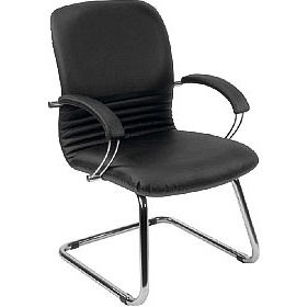 Mirage Leather Faced Visitor Chair