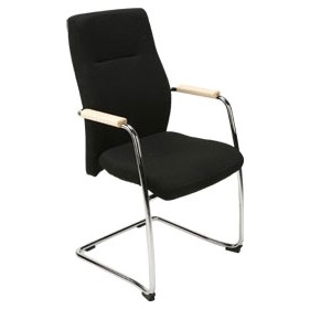Orlando Leather Faced Visitor Chairs £208 -