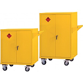 Mobile Flammable Storage Cupboards £584 -