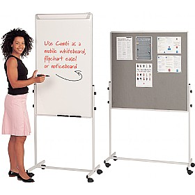 Combi Mobile Noticeboards £127 -