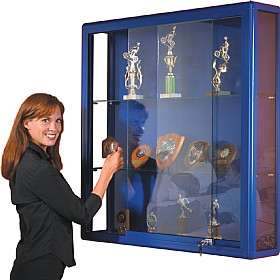 Shield Wall Display Cabinet