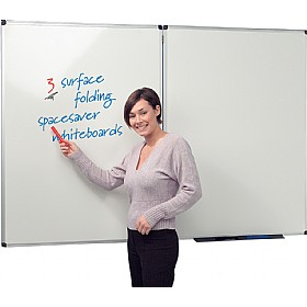 Write-On 3 Spacesaver Whiteboards £95 -