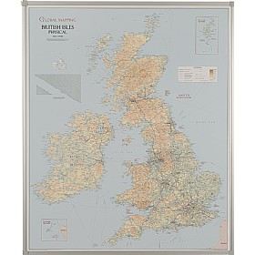 UK Road and Terrain Map £209 -