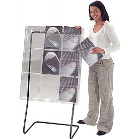 Freestanding All Clear Leaflet Dispensers £264 -