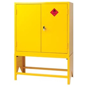Express Double Door Flammable Liquid Cupboards With Stands £404 -