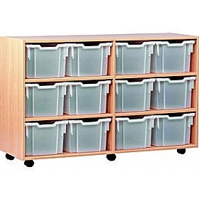 12 Tray Extra Deep Mobile Storage £0 -