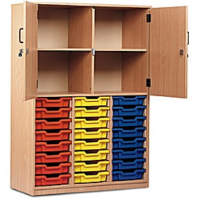 Large Volume Tray Storage Combination Cupboard £0 -