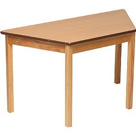 Natural Trapezoidal Classroom Tables £0 -
